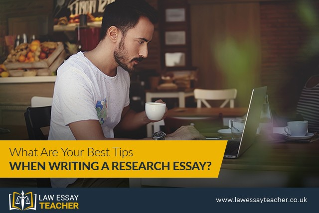 What Are Your Best Tips When Writing A Research Essay?