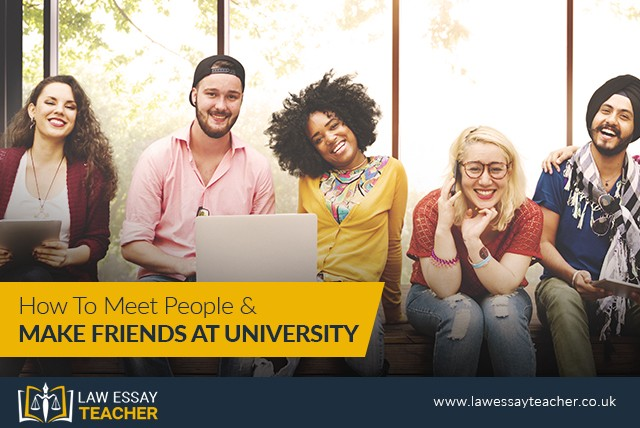 How To Meet People And Make Friends At University