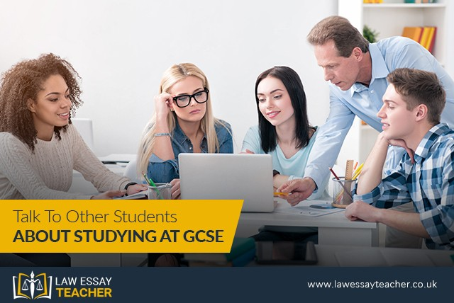 Talk To Other Students About Studying At GCSE